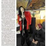 articulo en El Mundo- 17a 20/03- JUAN NAVARRO i AGNÉS MATEUS -Nancy Spungen