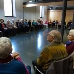 El taller a l'Escola de la Salut (Convent de Sant Agustí, 20/02/2013)