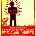 sopador - espectacle solidari per JUAN ANDRES