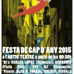 "FIESTA DE ""CAP D'ANY 2015"" EN ANTIC TEATRE"