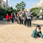 5/12 ISABEL OLLÉ, QUIM CABANILLAS & VEÏNES DEL CASC ANTIC   RITME EN EL TEMPS Projecte comunitari de l'Antic Teatre amb les veïnes del Casc Antic