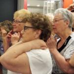 Veïnes de l'Antic Teatre d'entre 65 i 92 anys presenten un espectacle de dansa