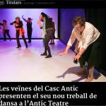 Las Vecinas de Antic Teatre en la sies.tv La televisio Cultural Catalana per Internet y Dansacat