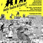 DIVENDRES 17 de JUNY 2016 de 18:00 a 24:00h. A.T.A.C. Antic Teatre Al Carrer dins la Festa Major del Casc Antic 2016 en CAT /// CAST /// ENG
