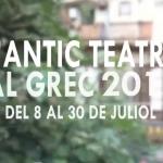 L'ANTIC TEATRE AL GREC 17 - Del 8 al 30 de juliol