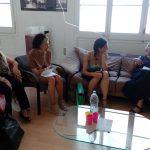 16/06 conversa a La Bonne amb la Maria Jesús Izquierdo