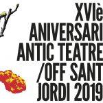 23/04 OFF SANT JORDI XVI aniversario del Antic Teatre