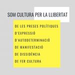 Convocatòria del bloc de cultura per la Vaga General  18/10 - Som cultura per la Llibertat