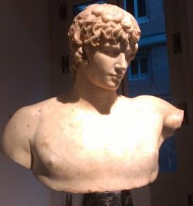 Antínoo. Museo del Prado.