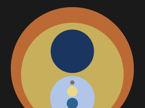 el logo del sistema solar