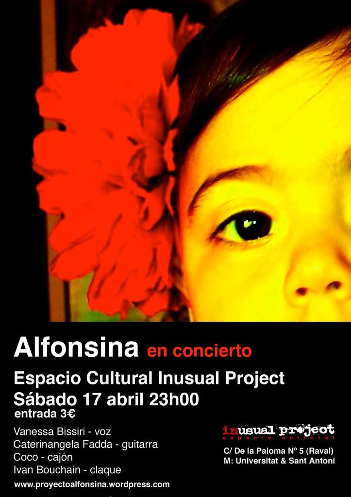 alfonsina en concierto inusual
