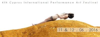 4th CIPAF Cyprus International Performance Art Festival