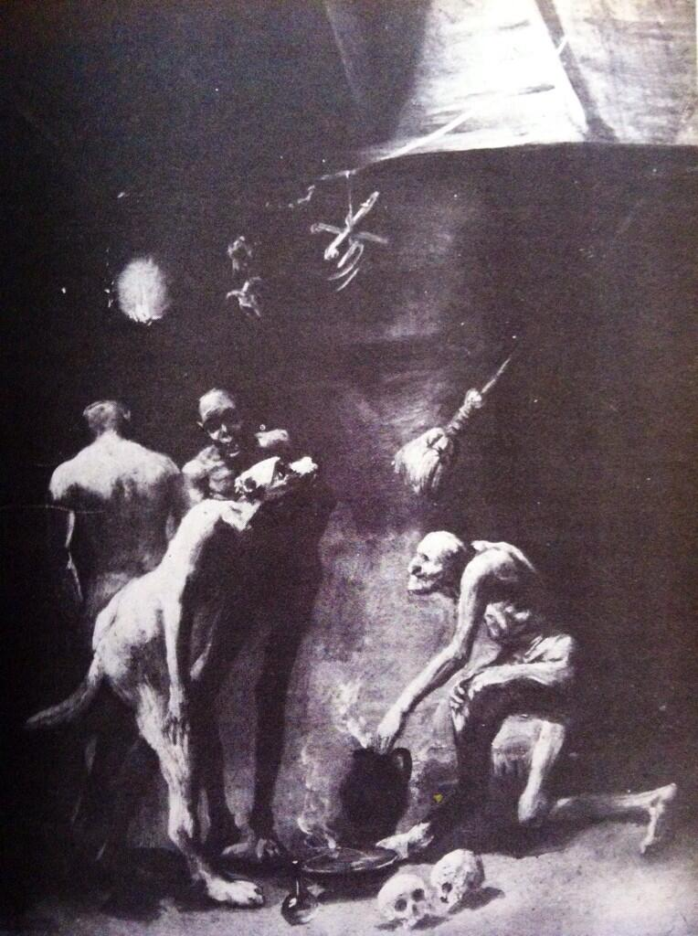 Cocina de las Bujas - Goya