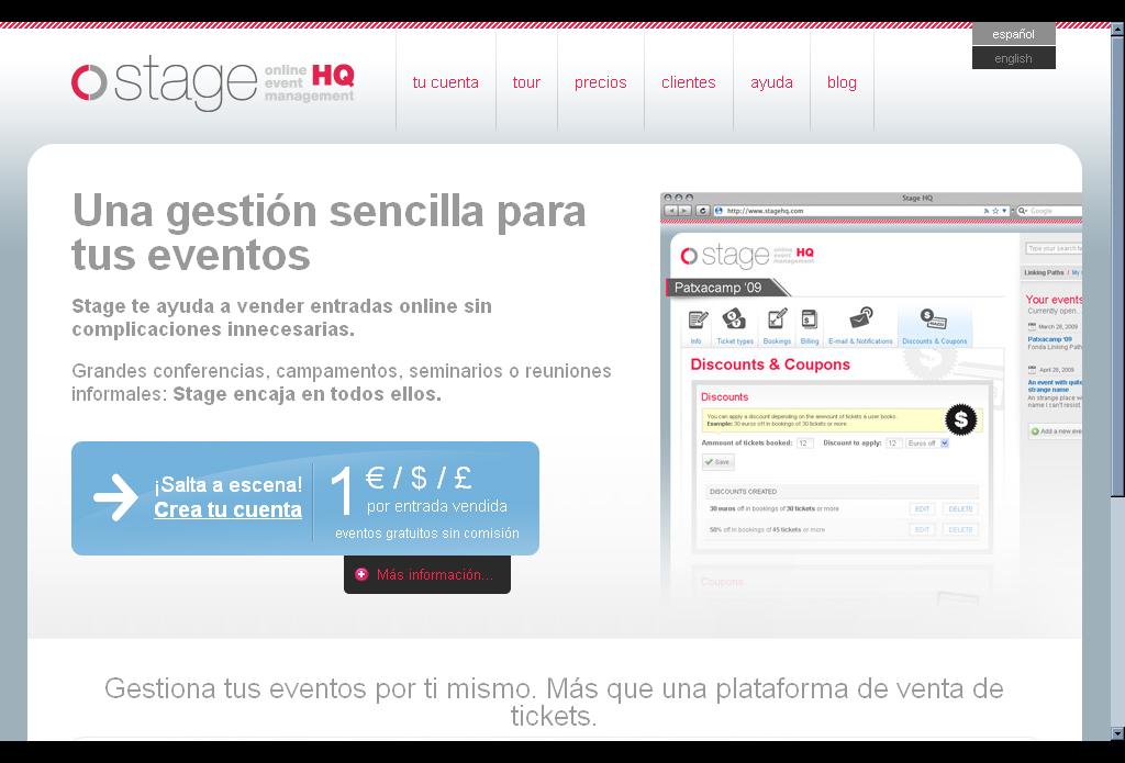 Aplicaciones online para la organización y gestión de eventos ...
