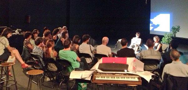Laboratorio 987 en Teatro Pradillo. Foto de Araceli Corbo.