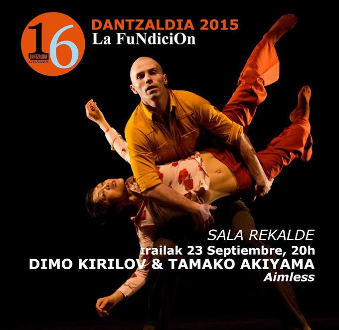 Inauguración del Festival DANTZALDIA 2015 Sala Rekalde SEPTIEMBRE 20h. / Entrada libre