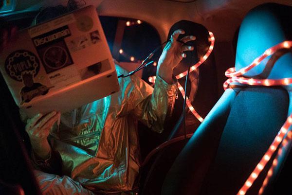 Claudia Pagés en De salonnières; El Tipi; Vaciador 34; Hidraúlicas; S.A.D.; Nigredo; Necesidad; Garaje Galaxia; Garaje Galaxia en Pradillo. Fotografías de Jorge Mirón.