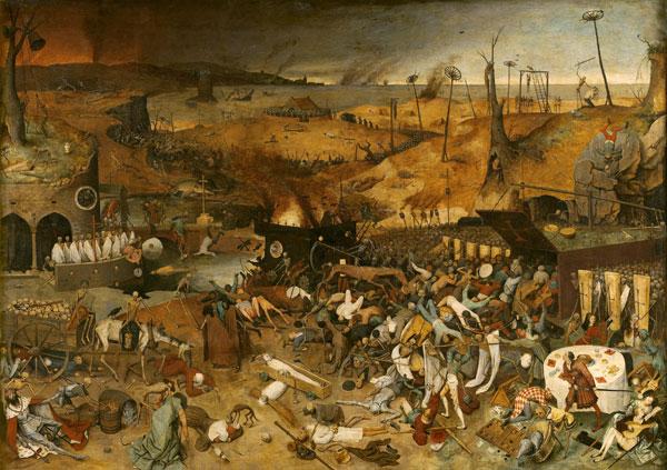 El triunfo de la muerte. Brueghel, El viejo