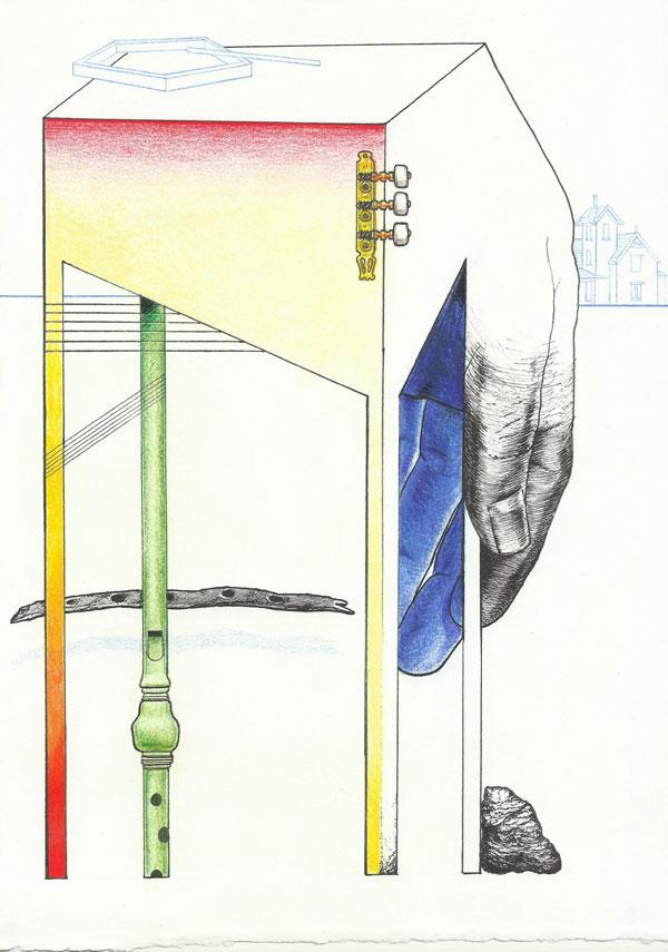 Dibujo de Javier Cruz