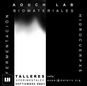 taller de fermentaciones, biomateriales e hidrocuerpxs con AOUCH.Lab