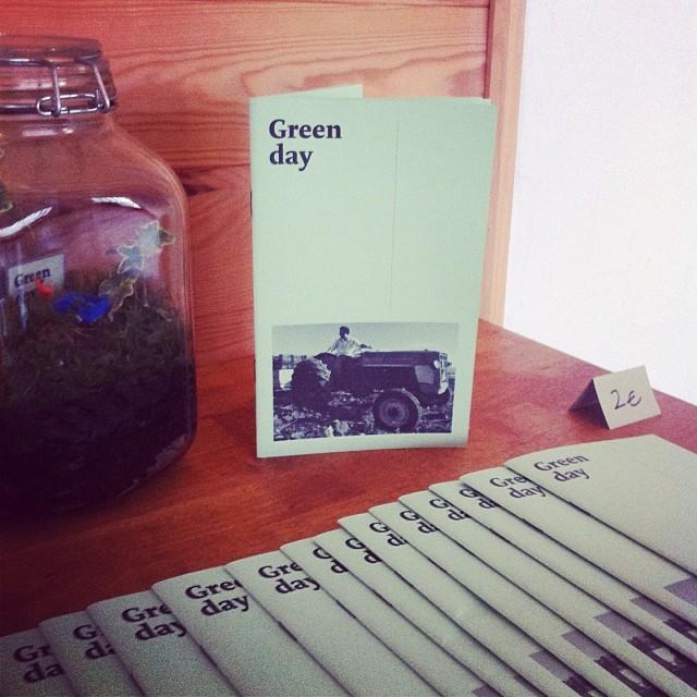 Fanzine Green day de Nyam Nyam