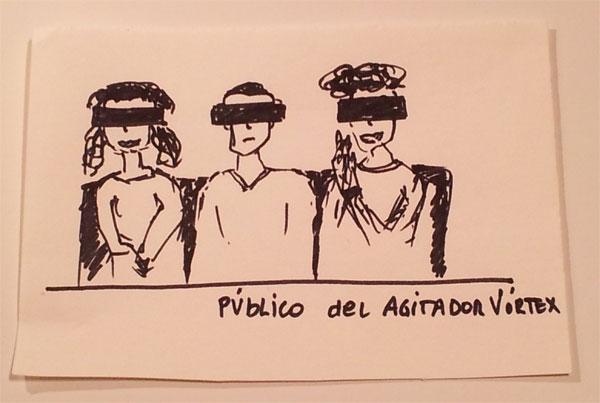 Gafas que ha previsto Cris Blanco para el futuro espectáculo El Agitador Vórtex