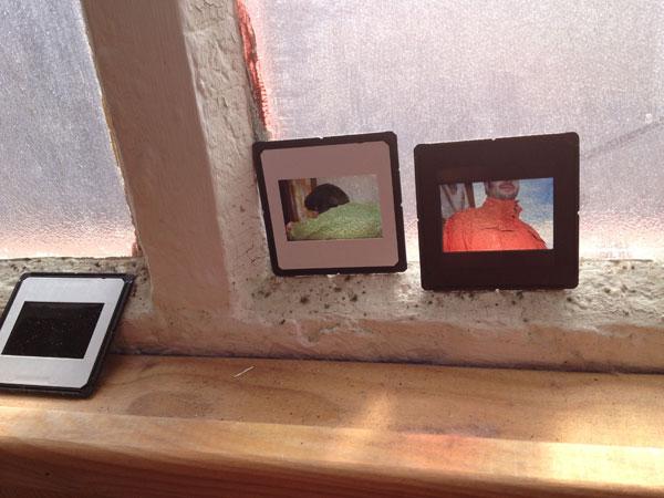 Diapositivas en las ventanas del Nyamnyam