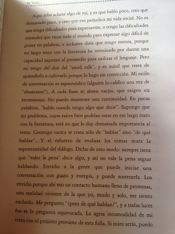 Página 6 del libro El todo que surca la nada de César Aira