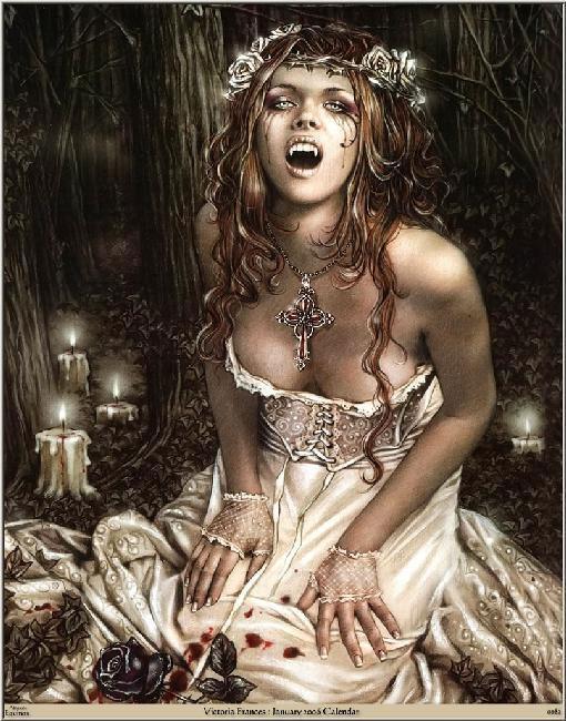 Una vampira molt mona