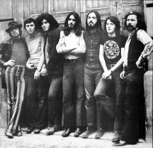 El grupo barcelonés de rock progresivo Máquina!