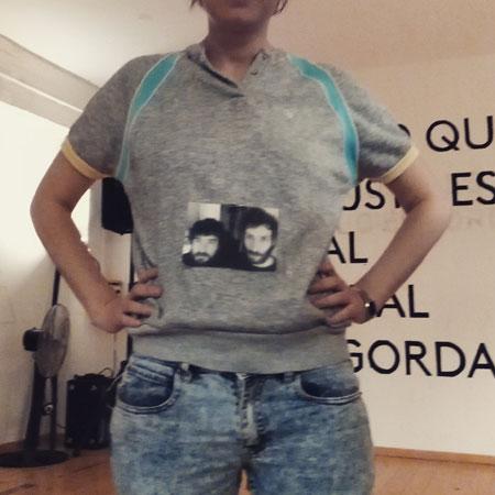 Camiseta de Novios