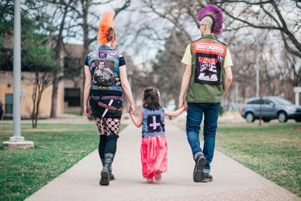 Familia de punks
