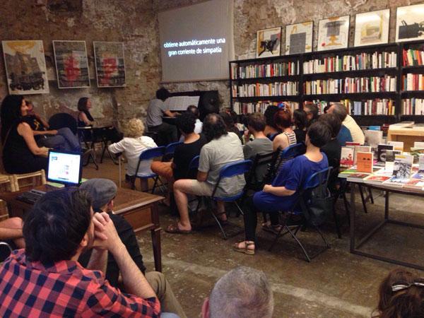 Intervención de Rubén Ramos Nogueira en la presentación de Los primeros días de Pompeya de María Folguera en la librería Calders