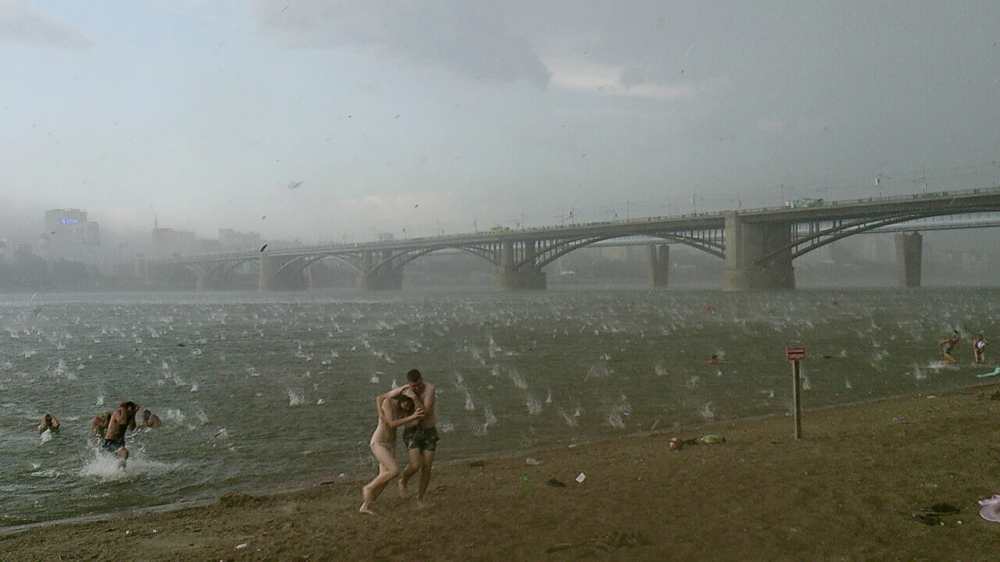 APTOPIX Russia Hailstorm Deaths