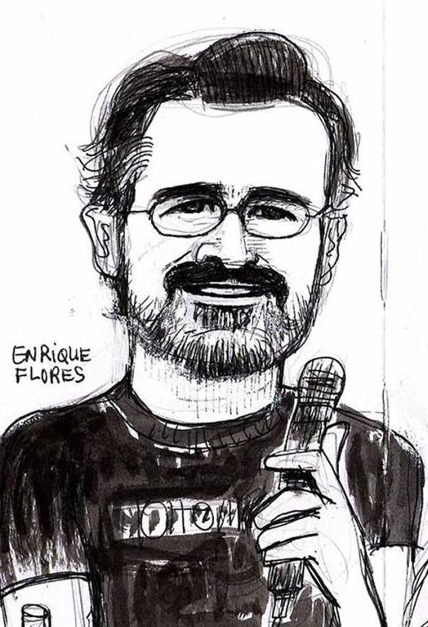 Retrato Enrique Flores